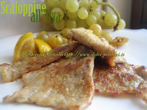 scaloppine all'uva1
