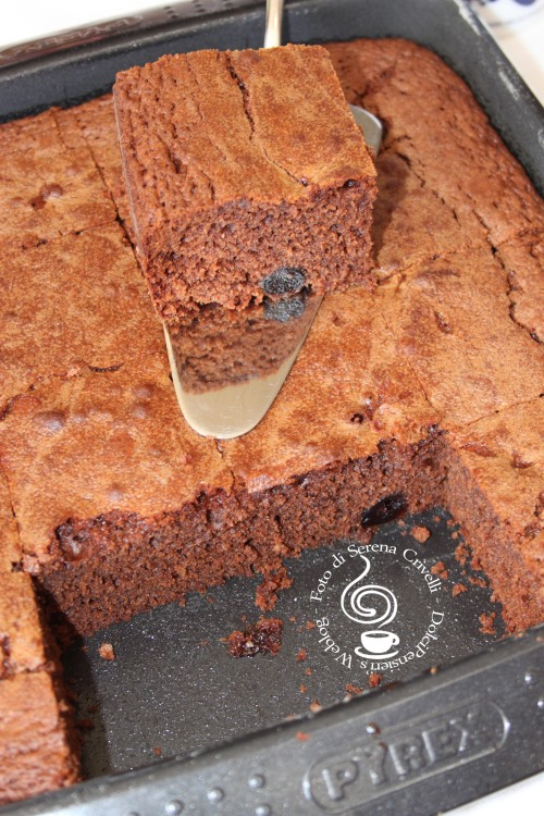 BROWNIES ALLE CILIEGIE (59)+
