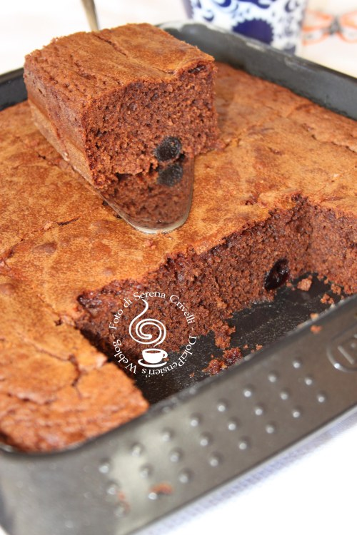 BROWNIES ALLE CILIEGIE (65)+