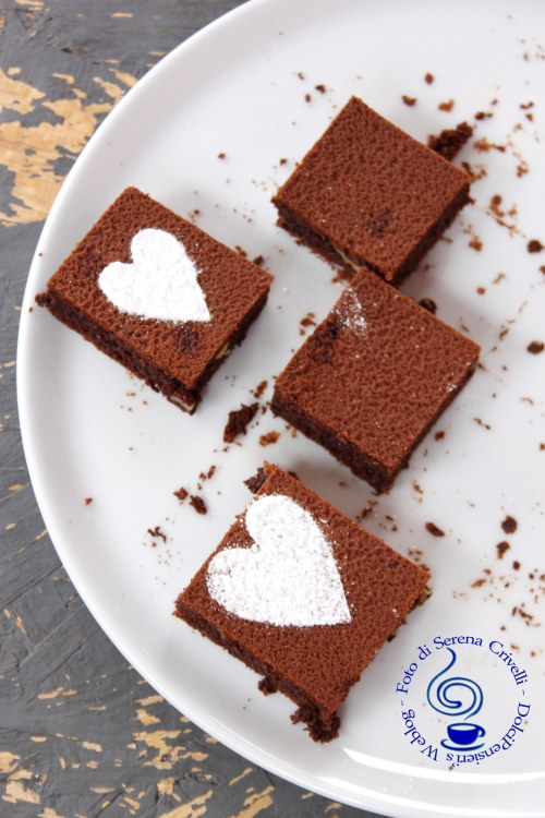 BROWNIES ALLA NUTELLA CON NOCI (2)++