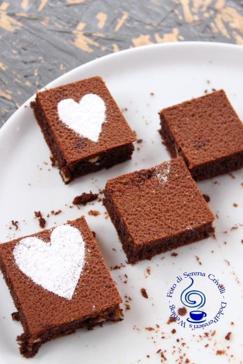BROWNIES ALLA NUTELLA CON NOCI (25)+